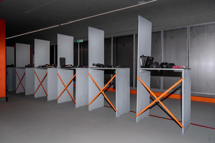 Ausstattung Trainingszentrum | 8 Schießstände | Act & Respond GmbH
