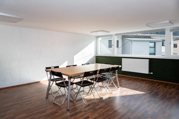Ausstattung Trainingszentrum |Seminarraum 1 | Act & Respond GmbH