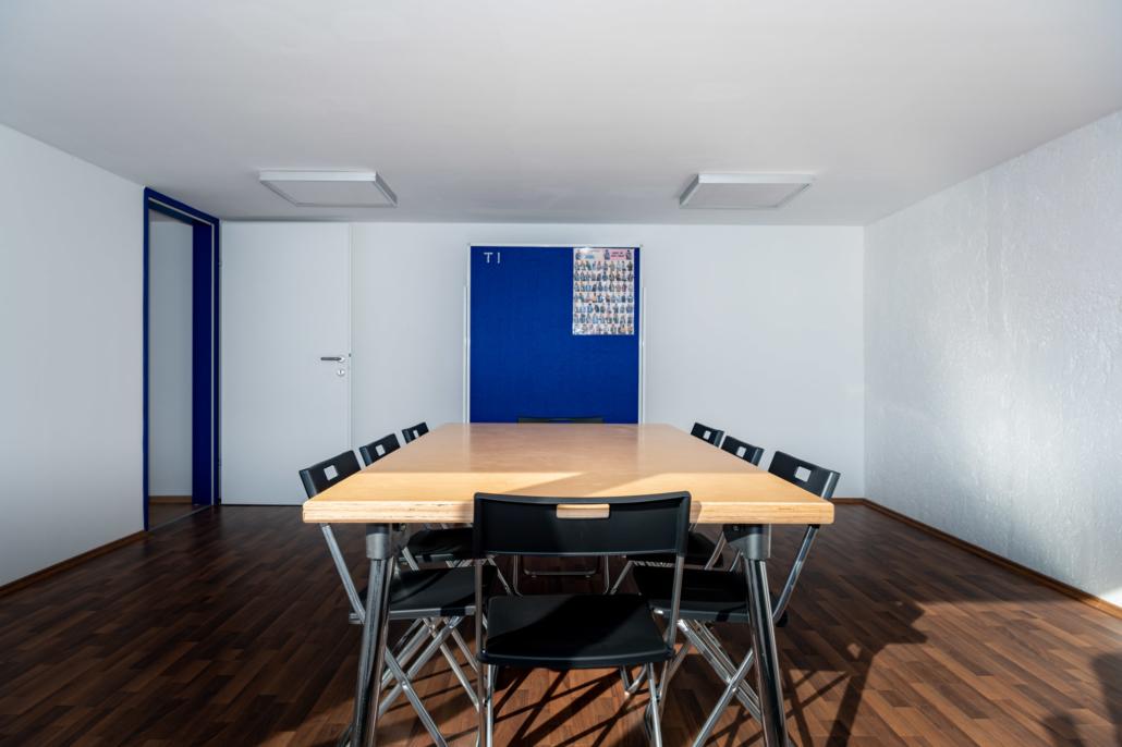 Ausstattung Trainingszentrum |Seminarraum 1 |Act & Respond GmbH