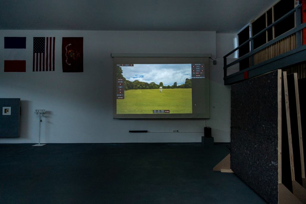 Ausstattung Trainingszentrum | State of the Art Simulator - Shooting Range | Act & Respond GmbH